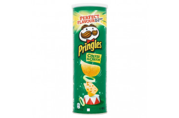 *Pringles 165g Cheese&Onion