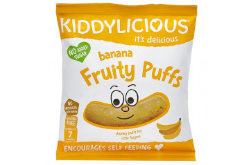KID Banana Fruity Puffs 12g