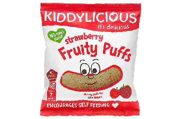 KID Strawberry Fruity Puffs 12g