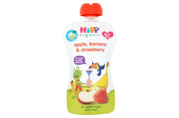 Hipp Skvísa Apple/St'Berry/Banana 100g