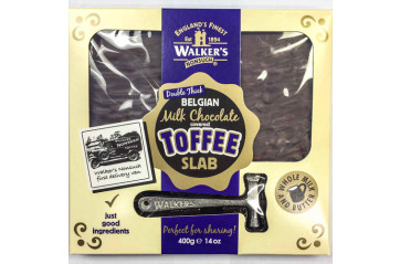 Walker's Nonsuch covered toffee slab 400g
