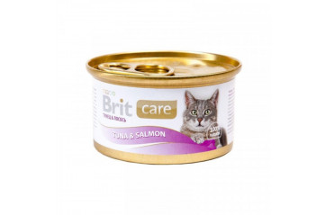 Brit C cat dós Tuna/Salmon 80g