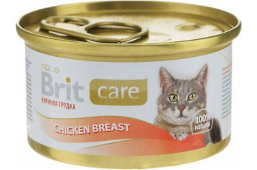 Brit C cat dós Chicken Breast 80g