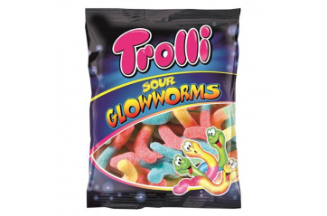 Trolli Sour Glowworms 100g