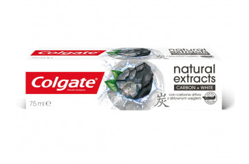 Colg.75ml Charcoal+white
