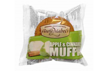 Muffins Apple & Cinnamon Aunt Mabel 100g