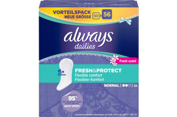 Always Innlegg Prot. Normal Fresh & flex 56stk