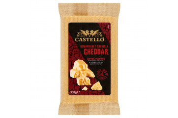 Castello Cheddar Extra Matured 350g