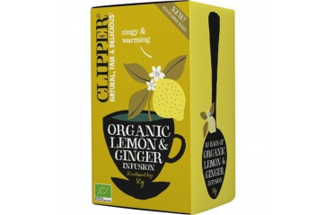 Clipp. N. LEMON AND GINGER 20 pokar