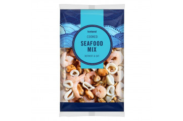 Ice Cooked Seafood Mix 500g