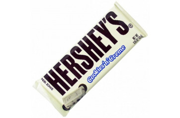Hersh.Cookies N Creme Bar 43g