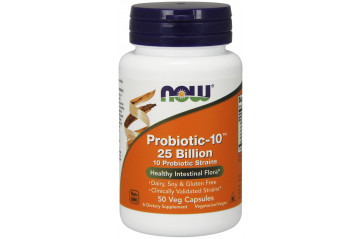Now Probiotic-10 25 Bill 50stk Vc