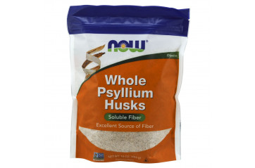 Now Psyllium Husks Mjöl 454gr