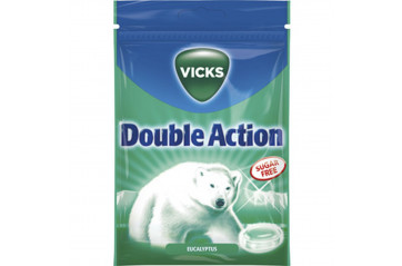 Vicks Double Action sykurlaus 72g