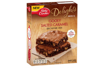 Betty C. Salted Caramel Brownie mix 430g