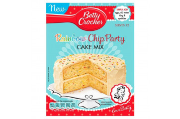 Betty C. Party Rainbow Chip Cake 425g