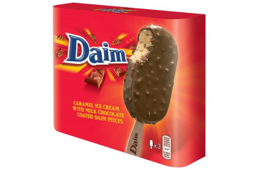 Daim Ice Cream Sticks 3x110ml