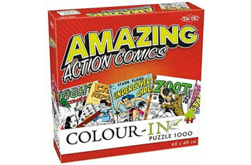 *Púsl Colour-In Puzzle 1000pcs Action Comics
