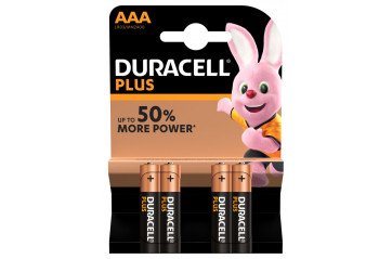 Duracell Plus Power AAA 4stk