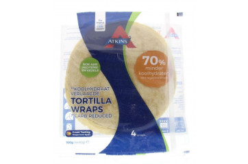Atkins Tortilla wraps 4x40g