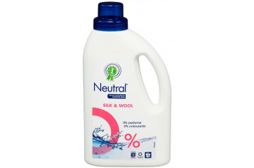 Neutral fljótandi Silki & ull 750ml