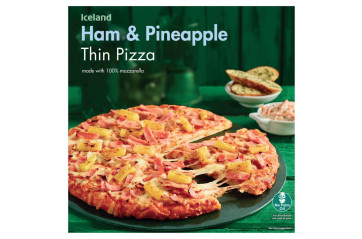 Ice TC Ham & Pinapple 345g.