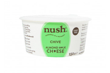 Nush Almond Cheese chive 150g