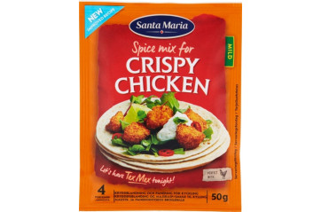 Santa M.Crispy Chicken Spice Mix 50g