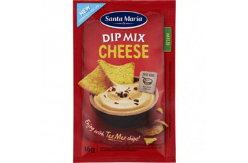 Santa M.Dip Mix Cheese 16g