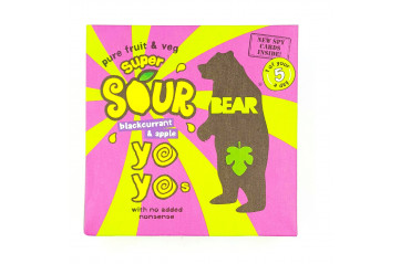BEAR Yoyo Multipack Sour Blackcurrant Apple 100g