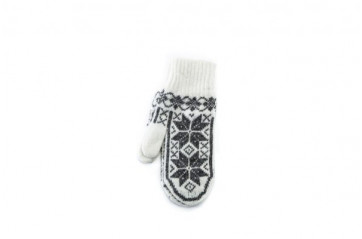 Ladies mittens – Scandinavian pattern