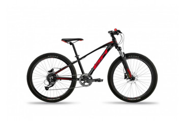 "BH Bikes Expert Jr PRO 24"" - 18 gírar Black Red"
