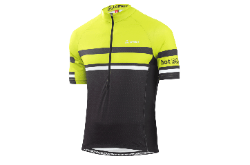 Löffler Hotbound Jersey hjólabolur Black Green