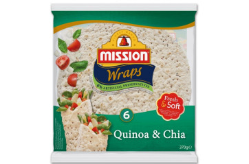 Mission Tortilla Quinoa&Chia 10