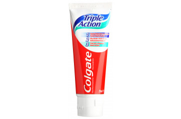 Colgate 75ml triple action sut