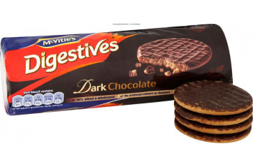 Mc Vitie's Diestives Dark Chocolate 266g.