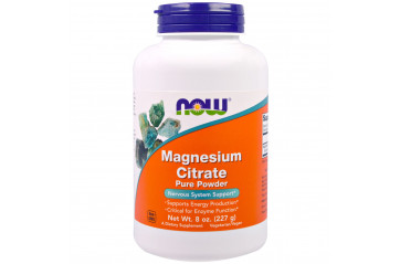Now Magnesíum Citrate Duft 227gr