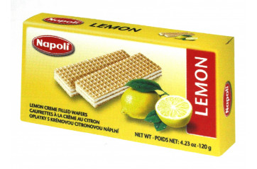 Wafer Brick Lemon 120g