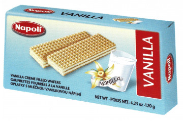 Wafer Brick Vanilla 120g