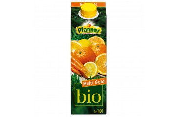 Pfanner Organic Multi Gold Mixed fruit 1L