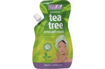 Beauty formulas maski teatree peel off 50ml