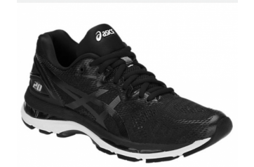 Asics Nimbus 20 Black/ White/ Carbon
