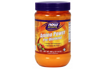 Now Amino Power Pre-workout 600g