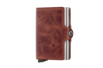 Twinwallet Vintage Brown