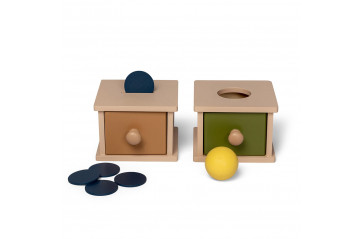 That's mine Wooden sorting boxes 2 pk