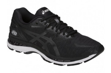 Asics Nimbus 20  Black/ White/Carbon