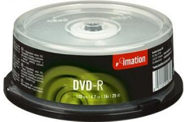DVD+R 4,7GB 16x Spindle 25st