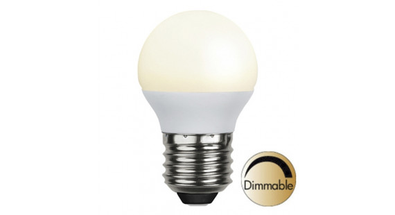 Illumination LED Opal E27 2700K 400lm 6W(35W) Dimmer compatible