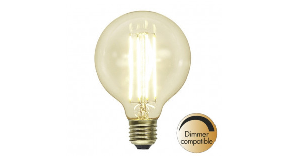 Decoration LED Clear G95 E27 2200K 320lm Dimmer comp.