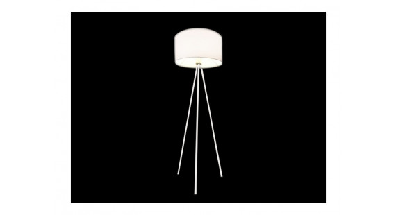 Finn White Floor lamp